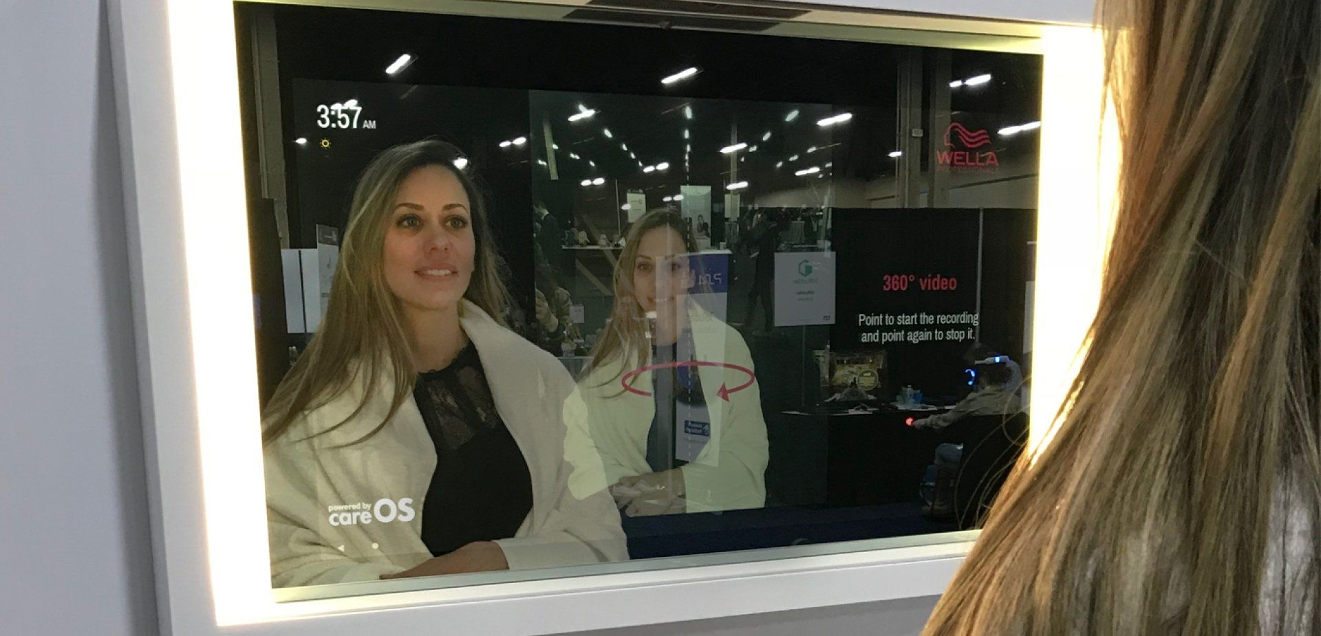 Coty unveils Wella Professionals AR enabled smart mirror for hair salon at CES 2019